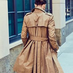 Trench coat weather: arguably our favorite weather. (cc: @mduenasjacobs). P.S. Tap for more info and to shop.