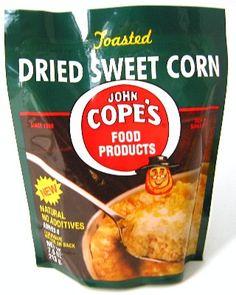 John Cope's Dried Sweet Corn $3.39