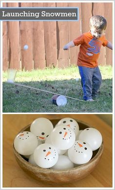 Great science (STEM) activity for toddlers, preschoolers, and elementary-aged kids! (Simple Machine Science for Kids: Launching Ping Pong Balls with a Homemade Lever- BuggyandBuddy.com)