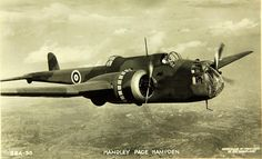 June 21, 1936: First flight of the Handley Page Hampden prototype K4240.