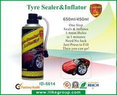 450ml-Tyre-Sealer-Inflator-ID-5014-tire sealant tire repaire tire sealer tire inflator tire cleaner supplier-iLike Fine Chemical