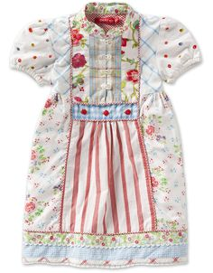 Oilily Daisy Dress lilian multi print - BABY
