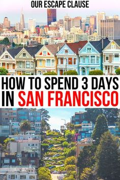 Planning to spend a long weekend in San Francisco? This 3 day San Francisco itinerary will show you the best of the city (and beyond). 3 days in san francisco ca | san francisco travel guide | san francisco vacation | california travel | california vacation | things to do in san francisco california | san francisco in 3 days | san francisco weekend getaway | usa weekend getaways | places to visit in san francisco | san francisco travel tips | day trips from san francisco