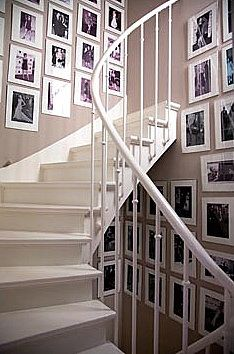 stairs and photos