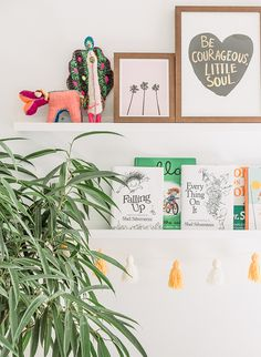 Bright Bohemian Girls Bedroom - Inspired By This