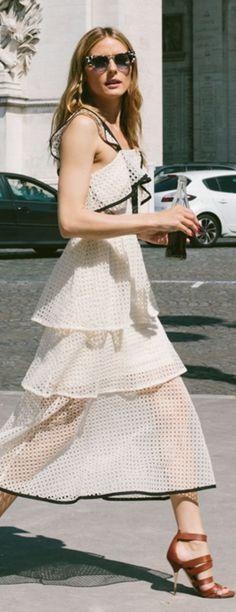 Olivia Palermo's Layered Summer Dress.