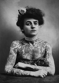 la femme // http://fix.inkbutter.com/tattoo-you/