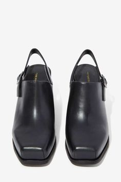 Intentionally Blank Honcho Leather Mule - Shoes | Heels