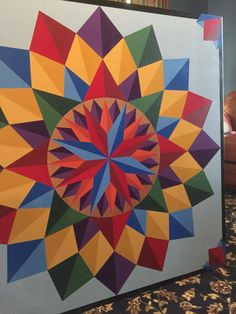 Barn quilt4'x4' barn quiltspainted quilt block Made