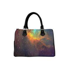 Tulip galaxy Boston Handbag (Model 1621). Great Gifts For Mom, Bag Making, Tulips, Boston, Shoulder Bags, Tote Bag, Elegant, Model, Classy