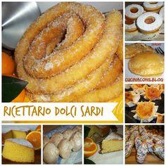 RICETTARIO DOLCI SARDI #Sardegna #dolci #food