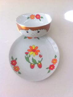 Super Cute Fred Roberts Boy Face Bowl & Plate Shoes by Pesserae, $22.00