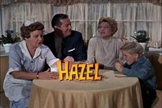Hazel - oh that wacky maid! This show was based on a Comic Strip and Shirley Booth played Hazel perfectly. My Childhood Memories, Best Memories, Hazel Tv Show, Shirley Booth, Nbc Series, Color Television, Tv Show Casting, Vintage Tv, Vintage Stuff
