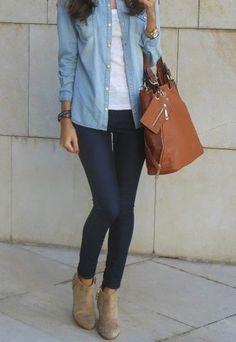 e8e56fcebc45d Vas a quedar encantada con estos outfits. Moda De Jeans Femenina