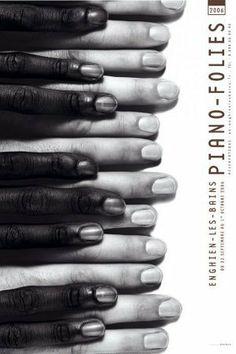 """""""Piano – Folies"""", Enghien-les-Bains, affiche, 2006: Michal Batory"""