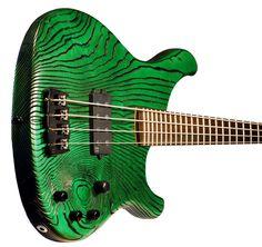 Sandberg Guitars Basic 4 in Zebra Green
