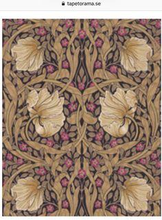 Pimpernel Fig/Sisal från William Morris & Co Wall Colors, Colours, William Morris, Sisal, Fig, Wallpaper, House, Home Decor, Decoration Home