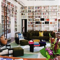IMPERIO jp VIDA — #library chez @dianevonfurstenberg = ...
