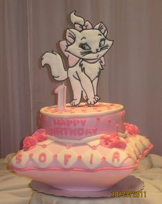 Marie Cake! I love the aristocats! She was always my favorite!