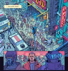 Do you like teasers? Can't tell you much but… The Future is Coming™ // 2088 : the graphic novel Art by yours truly Graphic Novel adaption written by Mike Kalvoda creator: Steven Ilous @steven.ilous http://stevenilous.com/