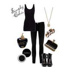 """Simple"" by wonderland449 on Polyvore"