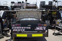 #5 Corvette Parts.Net NNS Race car at Richmond.