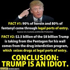 "juicetrump: """" Also a fact: the war on drugs has been super ineffective War On Drugs, Trump Train, Political Views, We The People, People Trump, Social Justice, Fun Facts, At Least, America"