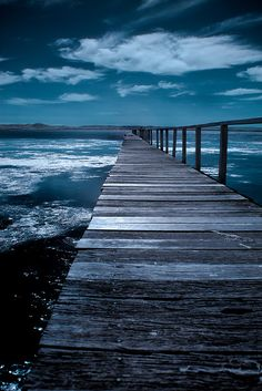 Watkins Jetty (by Naomi Frost) ~~~ Find More Wonders here http://a2zzz.ca.vu