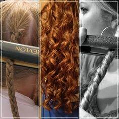 How To Get Crimps Or Curls In Seconds! #Beauty #Trusper #Tip