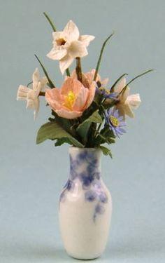 miniature flower and flower arrangements on pinterest. Black Bedroom Furniture Sets. Home Design Ideas