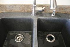 Black Granite Composite Sink 3