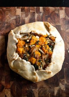 Roasted butternut squash galette - tried this with gluten-free flour and it still turned out amazing! Will make again!