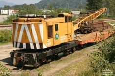 50417 Work Train, Train Car, Train Tracks, Ho Trains, Model Trains, Rr Car, Canadian National Railway, Road Construction, Railroad Photography