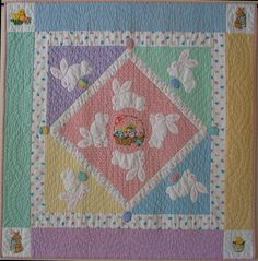 Easter Quilt by Netpawz, via Flickr