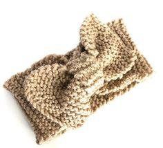 Headband knitting PATTERN headband diy by RebeccasRoomKnitting