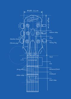 Guitar Head Blueprint