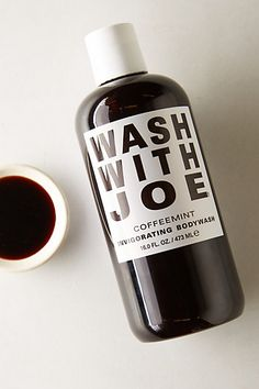 What? Coffee and mint? Perfect AM pick me up - no #caffeine required! Wash With Joe Body Wash #anthroregistry