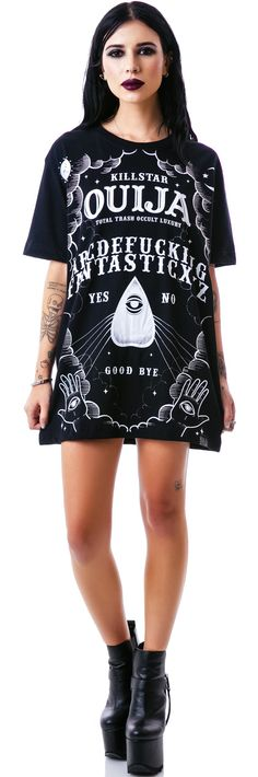 Kill Star Ouija T Shirt | Dolls Kill