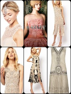 'Tis the season for some Great Gatsby inspired Deco style!    It's not all about the jazz music, here's some modern Art Deco 20's and 30's trend inspiration.