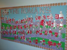 The Romans Display, Classroom Display, history, battle, solider Class Displays, School Displays, Classroom Displays, Classroom Ideas, Primary Resources, Primary Teaching, Teaching Art, Primary School, History Classroom