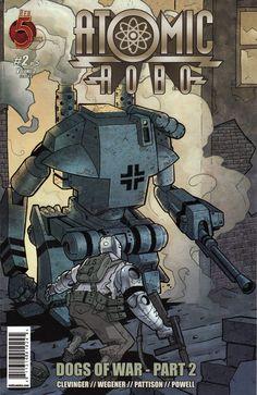 Atomic Robo Dogs of War 2