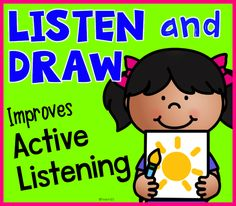 How do you teach promote active listening? Before you can effectively teach procedures and academic skills, your students need to listen and attend to what you are saying. Read to find out and get a freebie.  Link to paid.