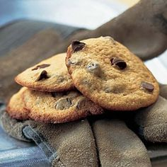 Puffed-Up Chocolate-Chip Cookies | CookingLight.com