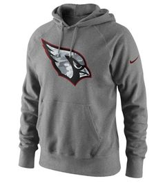 Arizona Cardinals Nike Gray Fly Over Pullover Hoodie #AZCardinals #NFLStyle