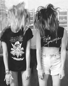short corto blusa larga. Blusa corta short alto ♥