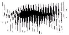 Streifen - optische Illusion