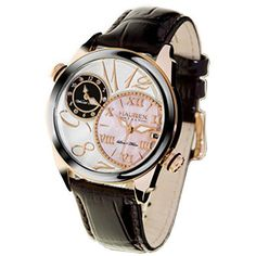 Haurex Italy Women's Big Fly Dual Time Watch For A Woman Of Strength