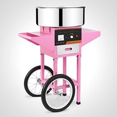 Best Kitchen Cart | Forkwin Cotton Candy Machine 7 ServingsMin Cotton Candy Maker Stainless Steel Candy Floss Machine With Cart Cotton Candy Machine Commercial ** You can find out more details at the link of the image. Note:It is Affiliate Link to Amazon.