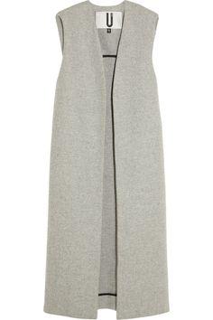 Topshop Unique Sleeveless Wool-Blend Coat via @stylelist | http://aol.it/1sTdSYb