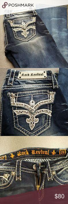 Rock Revival jeans Rock Revival jeans excellent condition. Etty boot cut Rock Revival Jeans Boot Cut